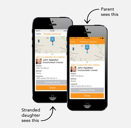 Urgent.ly:私家车抛锚时的 Uber 式服务