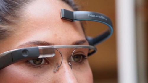 """别再""""OK Glass""""了,有了 MindRDR 你可以用大脑控制 Google Glass"""
