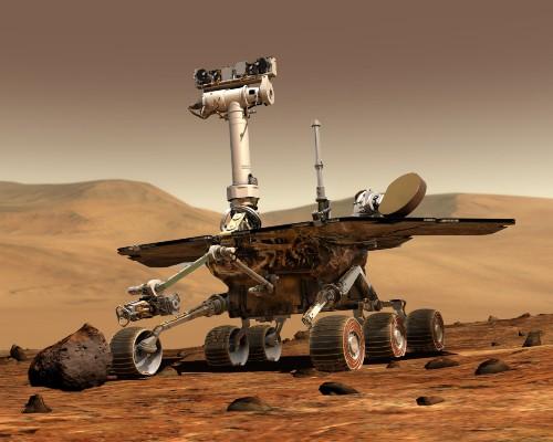 设计寿命只有 90 天的机遇号火星探测器迎来了自己的 12 岁生日