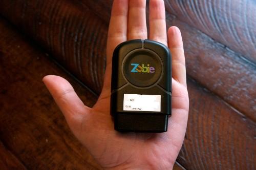 Zubie:让你的汽车变身联网汽车
