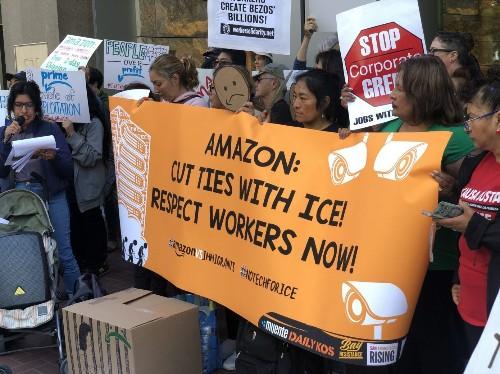 亚马逊员工和移民权益组织在会员日举行抗议活动 | TechCrunch 中文版