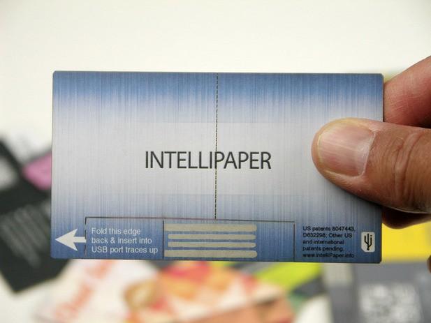 SwivelCard:一种具有统计分析功能的纸质 USB 名片