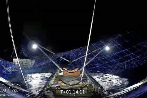 SpaceX 用驳船成功回收猎鹰重型火箭的整流罩 | TechCrunch 中文版