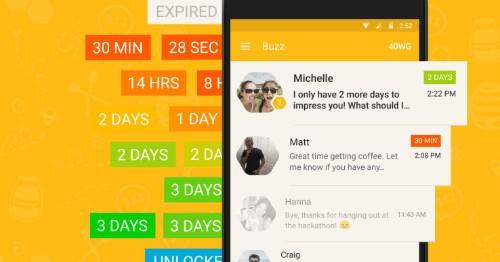 Buzz:一款会聊天结束自动拉黑的新聊天应用 | TechCrunch 中文版