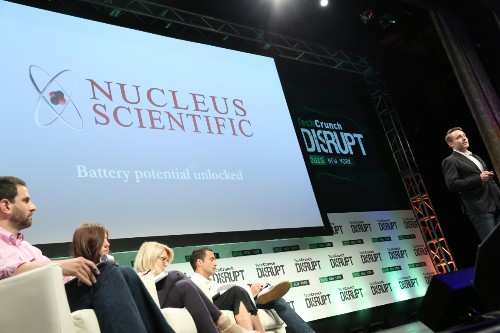 #DisruptNY15# Nucleus Scientific 展示智能能源系统:可在几分钟内给手机充满电
