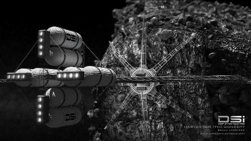 深空工业公司跟卢森堡政府联手测试小行星采矿技术