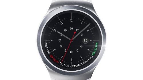 三星二代智能手表曝光:采用圆形外壳和金属表带