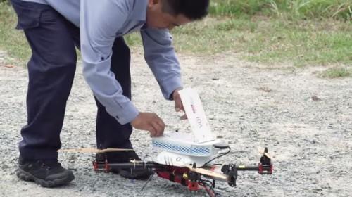 很快新加坡将使用无人机投递邮件
