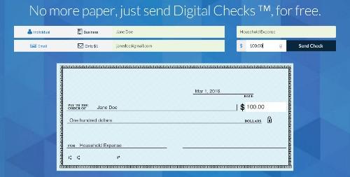 Checkbook:一项能让你向任何人免费汇出数字支票的服务 | TechCrunch 中文版