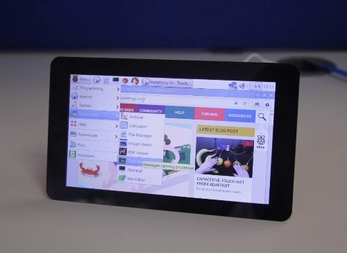 树莓派+触摸屏=PiPad 平板电脑