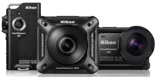 尼康发布三款相机产品,深挖虚拟现实与运动相机市场