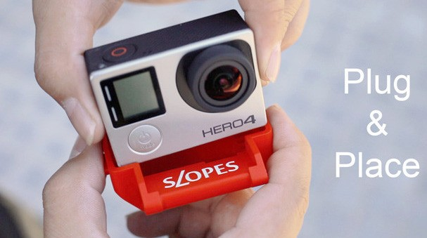 Slopes:重新定义 GoPro 支架