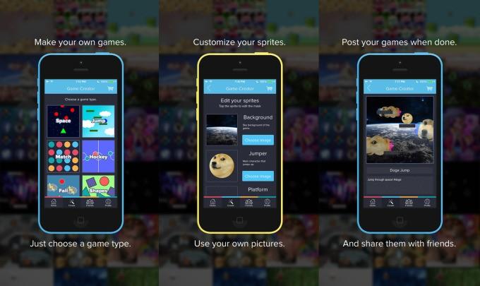 Playr:让你在 iPhone 上制作游戏
