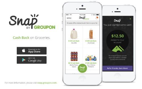Groupon 在低调收购 SnapSaves 之后推出购物返现应用 Snap