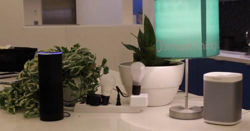 亚马逊 Echo 发力智能家居:将兼容 SmartThings