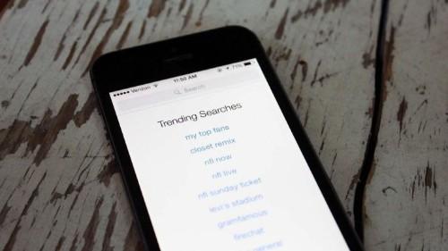 """可能有人利用 iOS8 应用商店""""趋势搜索""""作弊"""