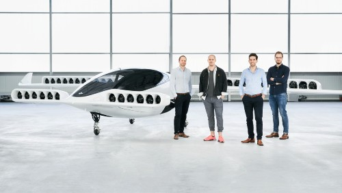 腾讯投资的 Lilium 展示五座版飞行出租车并完成首飞 | TechCrunch 中文版