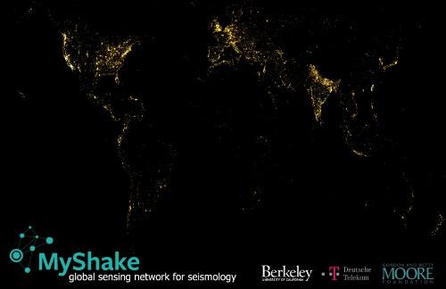 MyShake:将你的手机变成地震仪