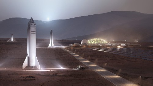 马斯克:在火星上建设首座可持续城市需要 1000 艘飞船和 20 年时间 | TechCrunch 中文版