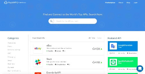 18 岁高中生建立的 RapidAPI 融资 350 万美元,帮助开发者更方便使用 API