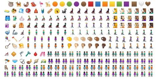 庆祝国际表情符号日,iOS 和 Android 新增一堆 emoji 表情 | TechCrunch 中文版