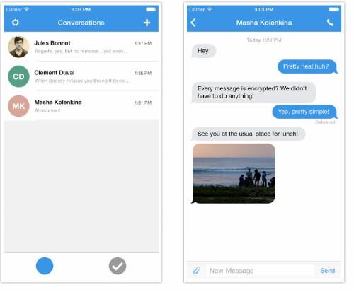 Signal:帮你加密 iPhone 通话短信,避免被窃听