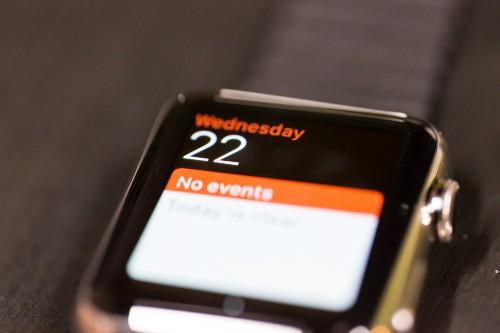 """苹果手表是绝佳的""""会务助理"""""""