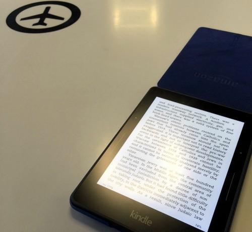 [周末放送] Kindle Voyage 评测:绝佳的旅行伴侣