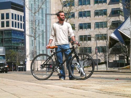GeoOrbital:将普通自行车变成电动车的车轮