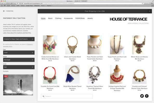 Pinterest Adds A Few Tools To Integrate More Easily With Squarespace