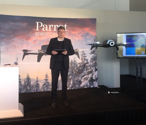 Parrot lays off 35 percent of its drone team