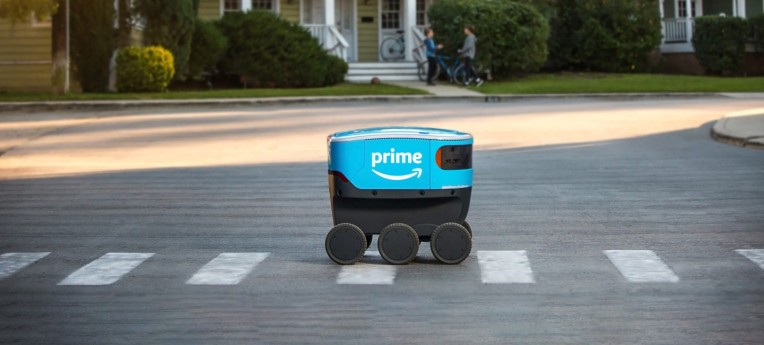 Amazon Scout autonomous delivery robots begin deliveries in California