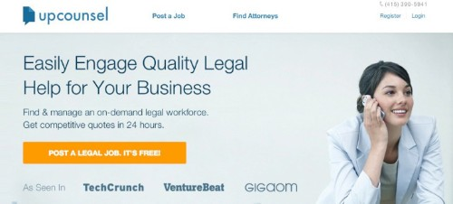 Online Attorney Marketplace UpCounsel Raises $1.5 Million, Opens Its Patent Practice To All