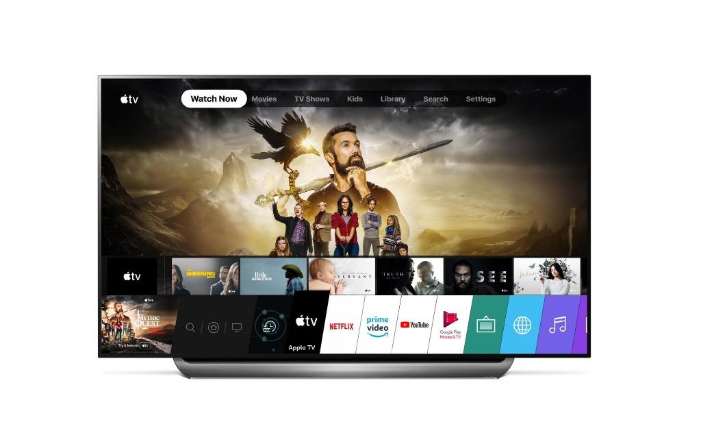 Apple's TV App and Apple TV+ arrive on 2019 LG TVs