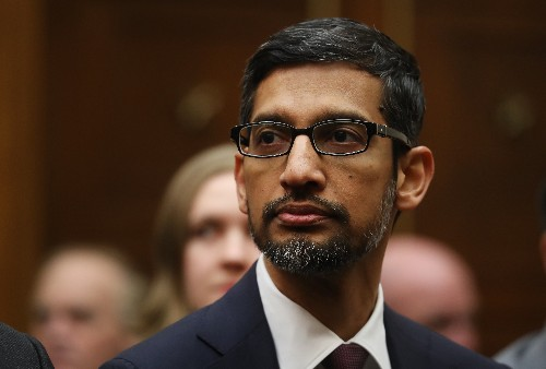 Google's Sundar Pichai doesn't want you to be clear-eyed about AI's dangers