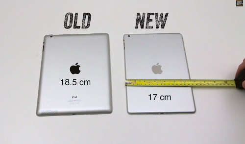 Alleged iPad 5 Case Parts Leak In Video, Show Much Smaller Device Footprint Vs. Current Retina iPad