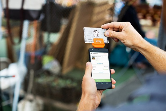 Etsy Moves Further Into The Offline World With Launch Of Card Reader For In-Person Payments