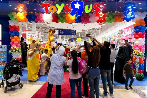 Toys 'R' Us relaunches its website, where online sales are powered by Target