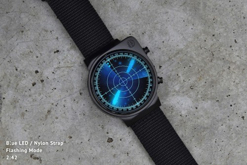 Tokyoflash has created a radar watch that scans the skies (or your wrist)