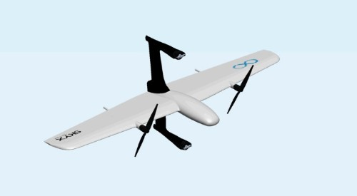 SkyX drones are half-helicopter, half-plane and built to fly long distances