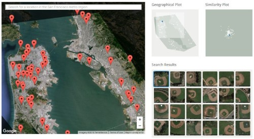 Terrapattern is reverse image search for maps, powered by a neural network