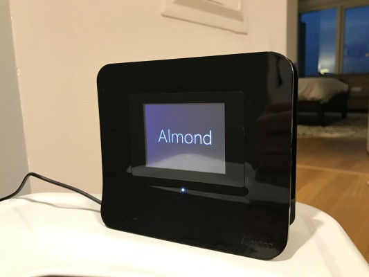 The Almond 3 router actually makes it enjoyable to set up a Wifi and home automation network