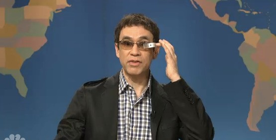 Saturday Night Live Takes On Google Glass