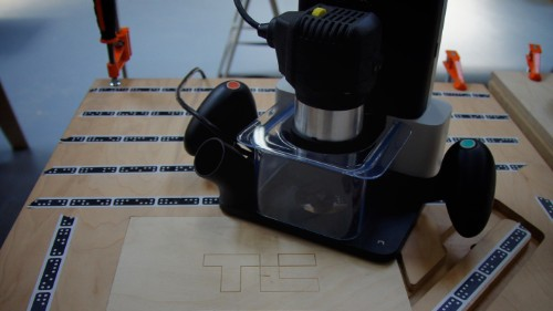 Augmented reality makes prototyping easy on Shaper's Origin CNC machine