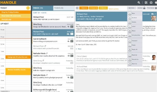 Handle Is A Priority Engine And Task Management App For Your Inbox