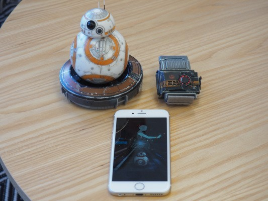 Taking Sphero's BB-8 Force Band for a spin