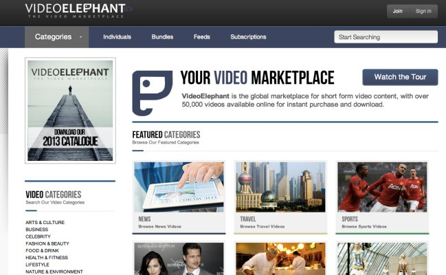 VideoElephant Wants To Be The iStockphoto Of Pre-Packaged Professional Video Content