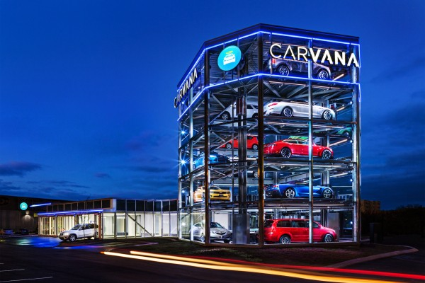 Carvana raises a $160M Series C to expand its online dealership and car vending machines nationwide