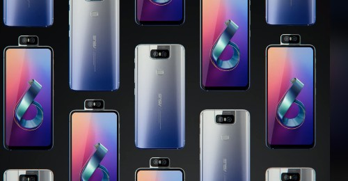 Asus' $499 ZenFone 6 has a flip-up camera and a giant battery
