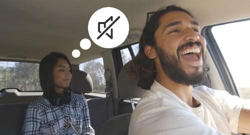 Uber Black launches Quiet Driver Mode